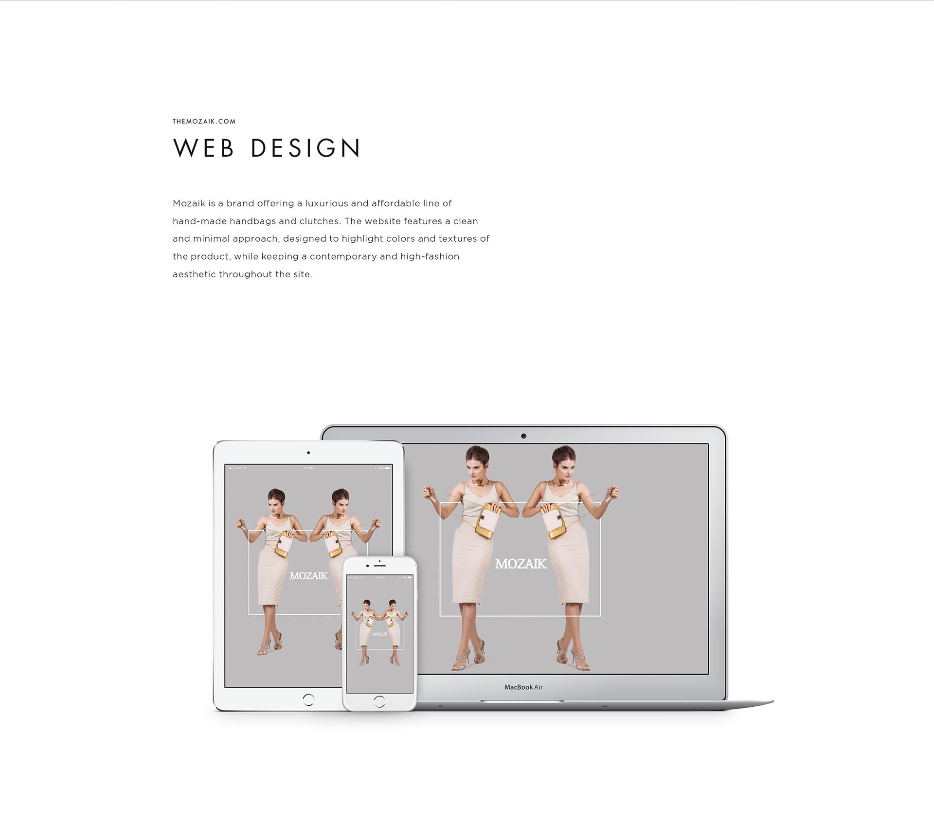 Mozaik web Portfolio 2